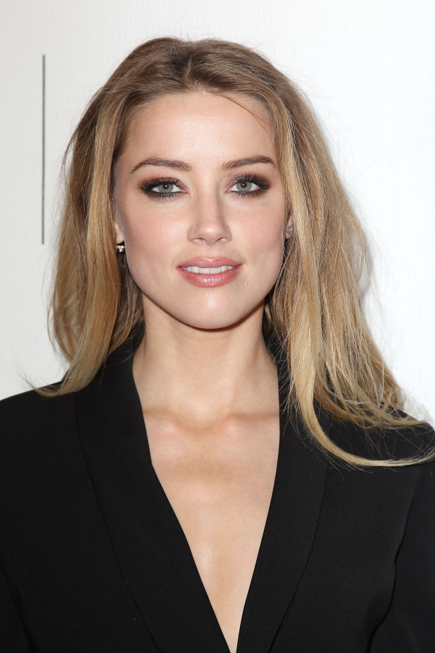 Amber Heard at the 2015 premiere of 'The Adderall Diaries'.