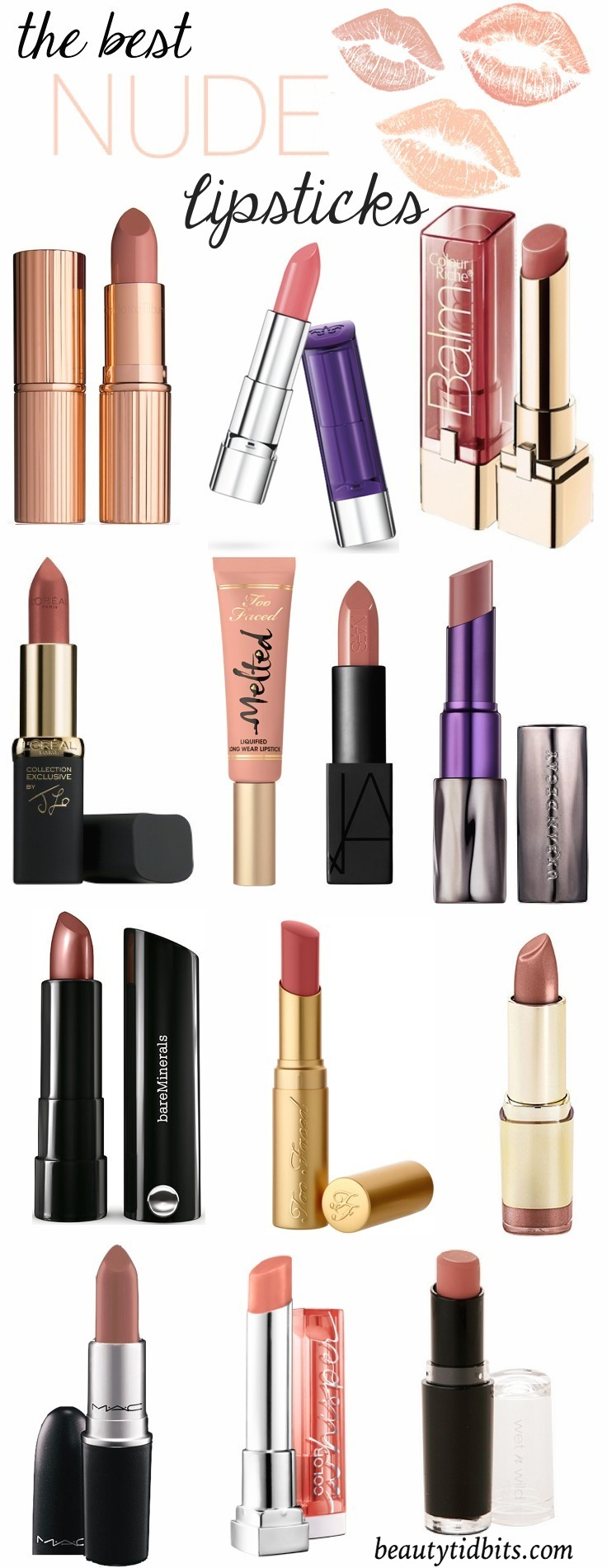 Looking for the perfect nude lippie this spring? Here are some of the best nude lipsticks for every skin tone!