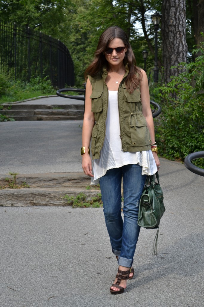 summery casual utility vest