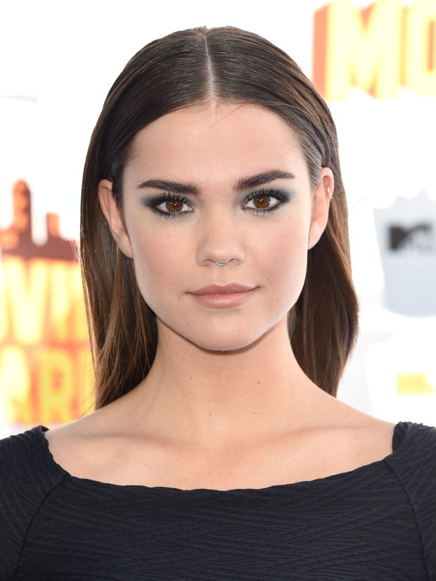 Maia Mitchell at the 2015 MTV Movie Awards.