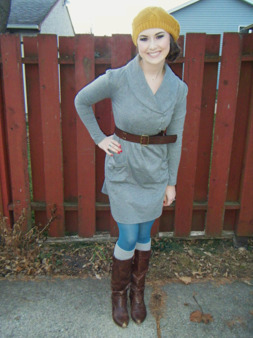 tunic leggings belt