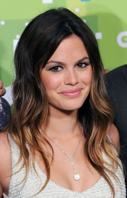 Black to Brown Ombre Hair for Long Hairstyles