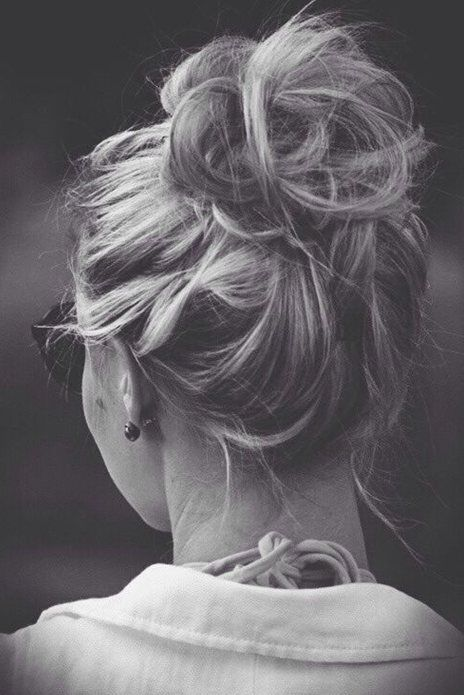 Messy Updo Hairstyle for Summer