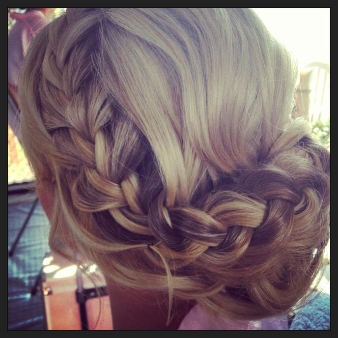 Braided Updo for Wedding Hairstyles