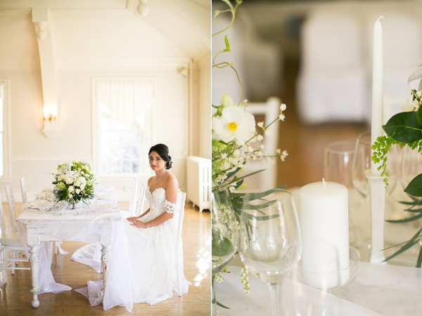 monochrome wedding inspiration - photo by Kelly Lemon Photography http://ruffledblog.com/monochrome-spring-wedding-editorial