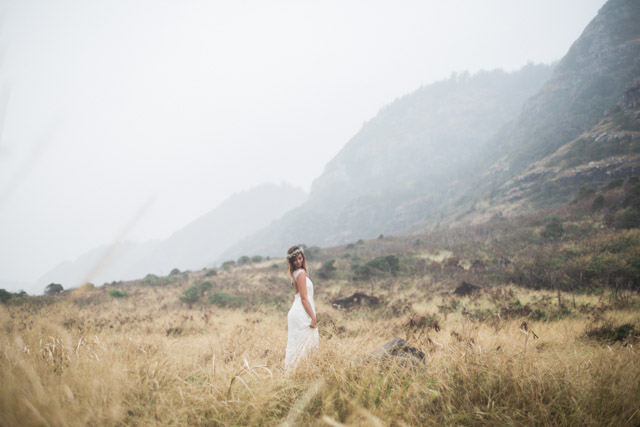 Mountain bride | Just B Photography | see more on: http://burnettsboards.com/2015/04/earthy-mountain-elopement-hawaii/