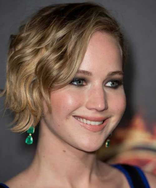 Jennifer Lawrence Curly Hair