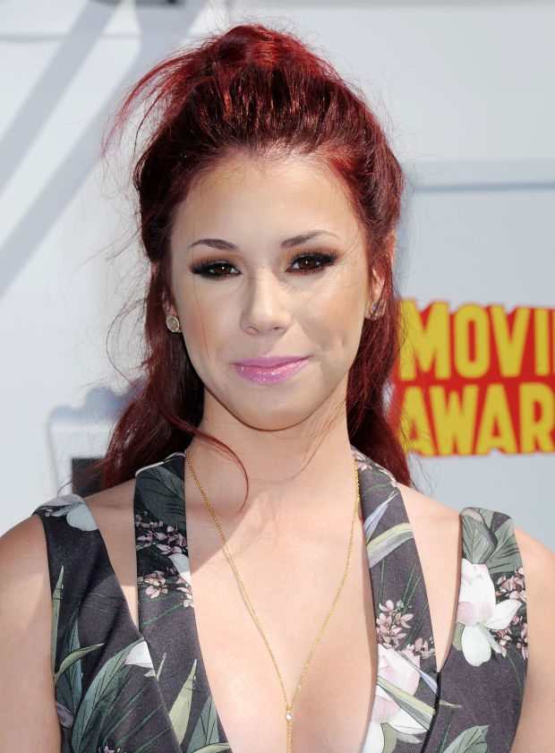 Jillian Rose Reed at the 2015 MTV Movie Awards.