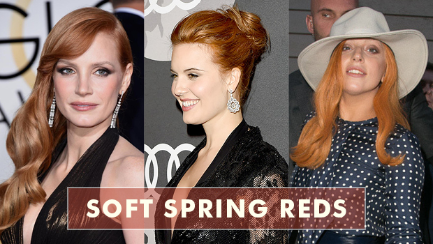 Soft Spring Red Hair