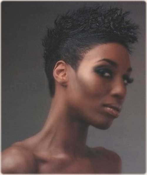 Cool Side Mohawk Hairstyles for Black Women