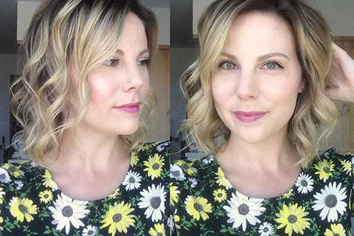 Best Beachy Waves and Curls for Short Hair