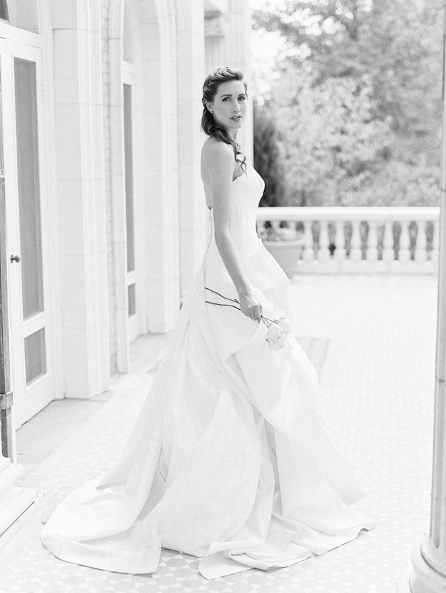 Anna Maier wedding dress | Lisa O'Dwyer and Prema | see more on: http://burnettsboards.com/2015/04/sargents-bride/