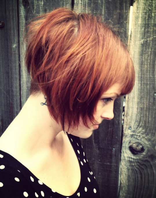Layered Pixie Haircut for Girls