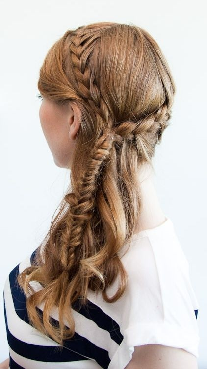 Bohemian Briaded Hairstyle