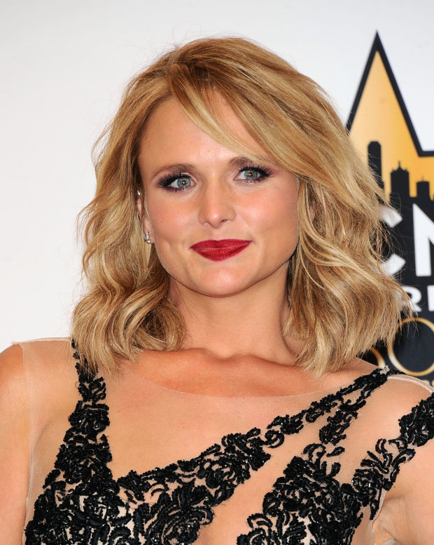 Miranda Lambert at the 2015 ACM Awards.