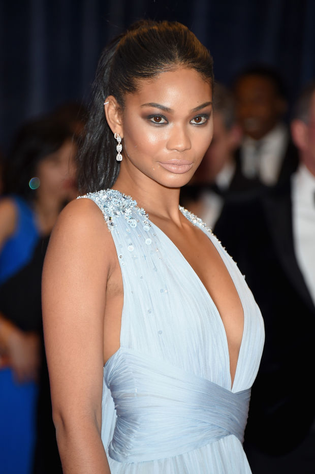 Chanel Iman at the 2015 White House Correspondents' Dinner.