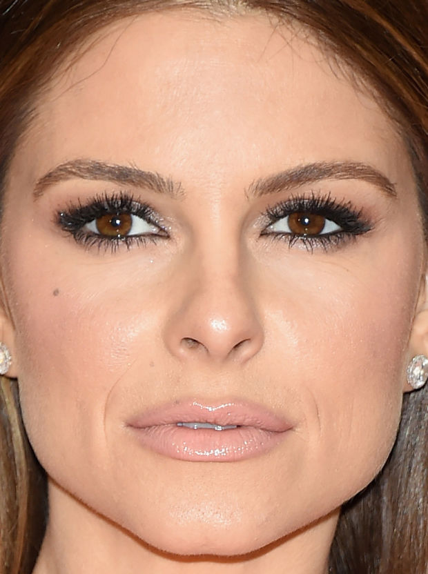 Close-up of Maria Menounos at the 2015 White House Correspondents' Dinner.
