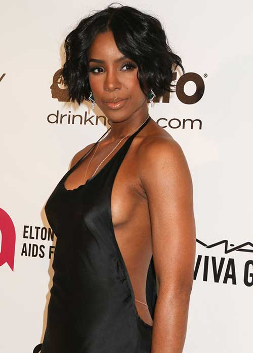 Kelly Rowland Hairstyles 2014