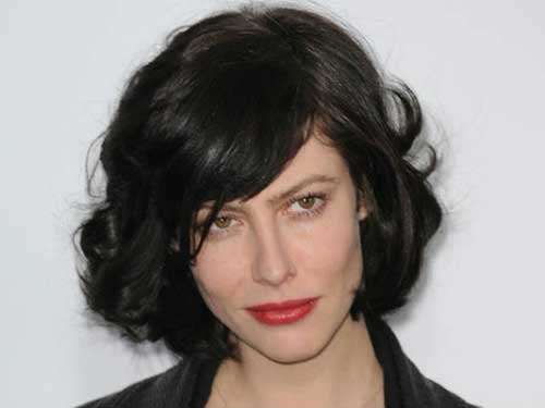 French Actress Anna Mouglalis' Perfect Curly Bob