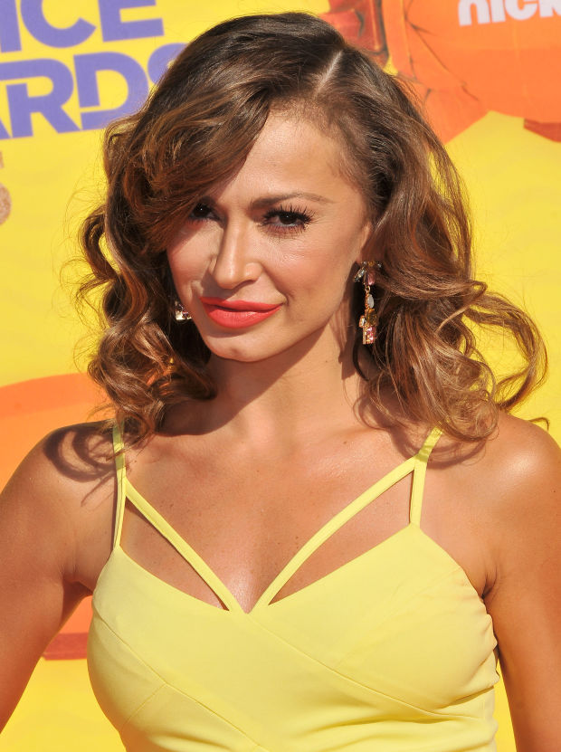 Karina Smirnoff at the 2015 Kids' Choice Awards.