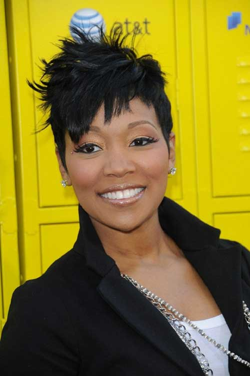 Black Womens Straight Pixie Short Hairstyles