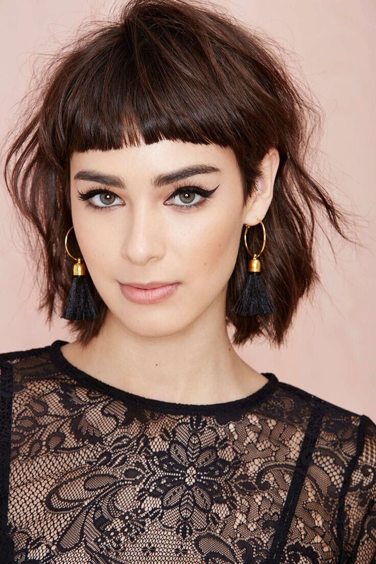 Cute Short Shaggy Hairstyles