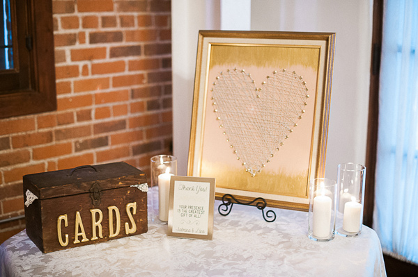 wedding cards - photo by Brandi Welles Photographer http://ruffledblog.com/sheer-romance-wedding-at-carondelet-house