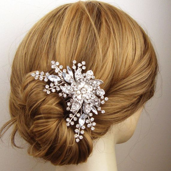 flower jewelry hairstyle