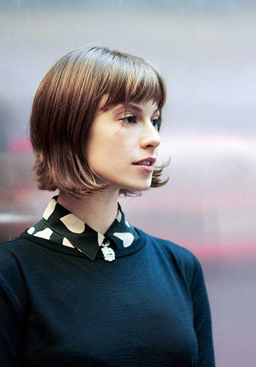 Inverted Bob Elettra Wiedemann Hair
