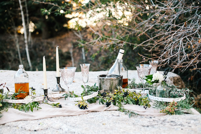 Tablescape | Mary Claire Photography | see more on: http://burnettsboards.com/2015/04/dreaming-calligraphy-wedding-editorial/