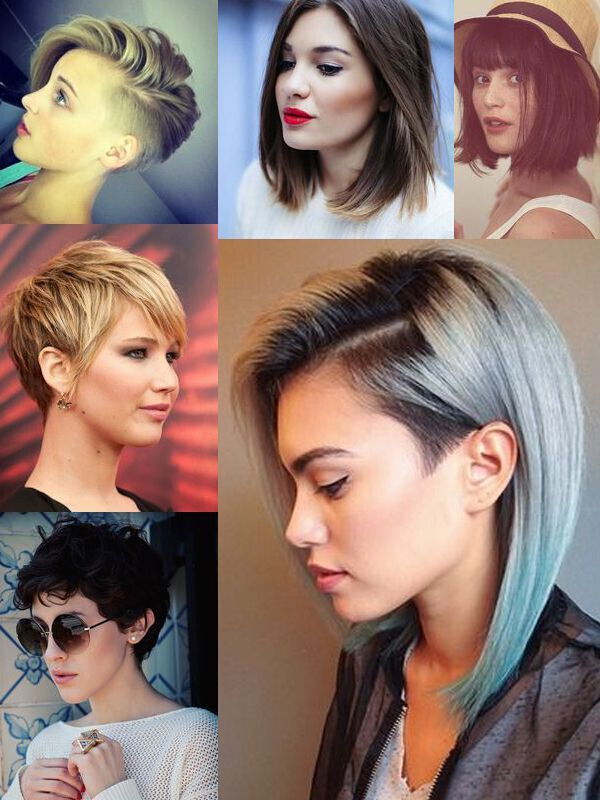 Short Hairstyles for Girls: With or Without Curls!
