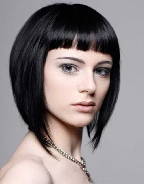 Cute Chinese Bob Hairstyles