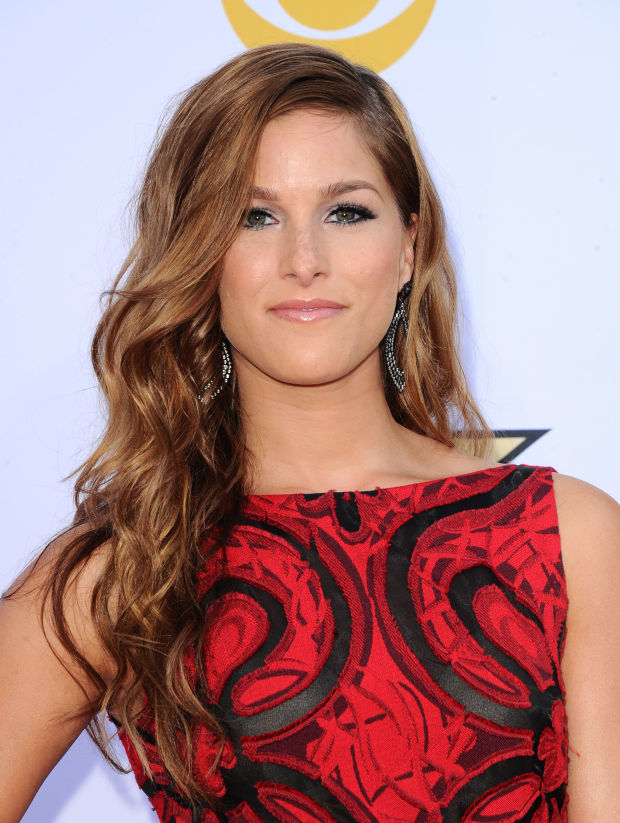 Cassadee Pope at the 2015 ACM Awards.