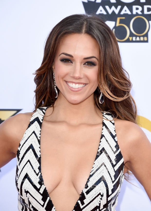 Jana Kramer at the 2015 ACM Awards.