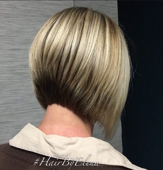 Classic Blunt Short Bob Hairstyle for Women