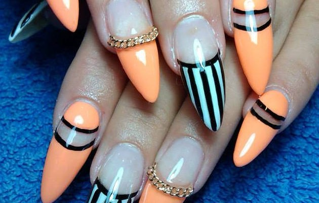 18 Fascinating Nail Patterns To Copy This Spring | Nail Design