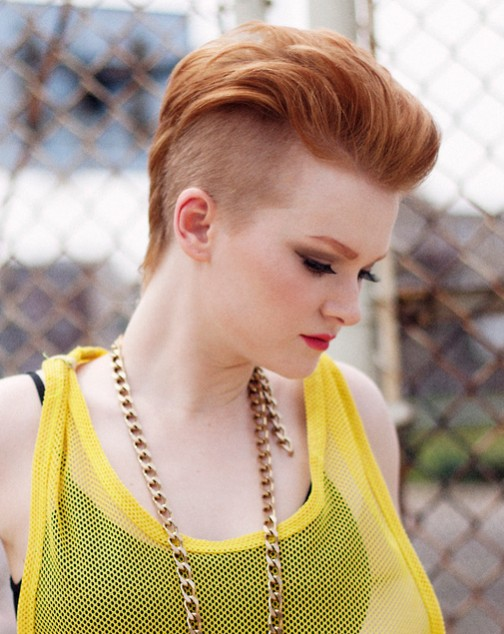 Pixie Haircut for Fauxhawk Look