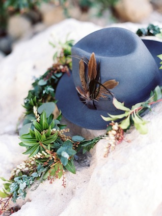 Groom's hat ⎪ Tina Shawal Photography ⎪ see more on: http://burnettsboards.com/2015/04/island-inspired-bohemian-wedding/