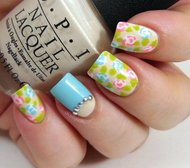 gel-nail-art-cute-spring-flower-themed-nail-art-designs-with-pastel-color-top-nails-design-ideas