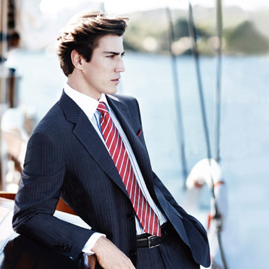 How to Match Your Suit with Shirt and Tie (2)