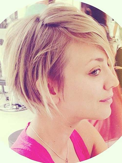 Best Kaley Cuoco New Hairstyle