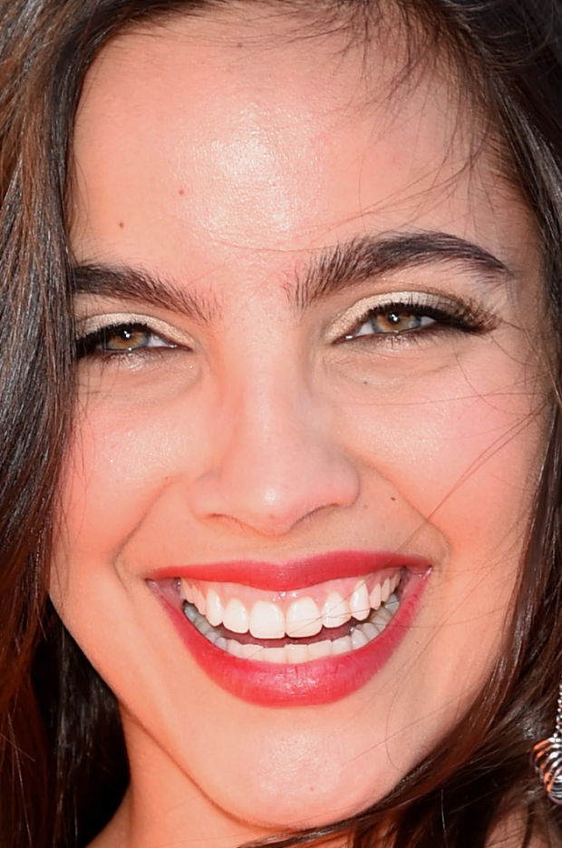 Close-up of María Gabriela de Faría at the 2015 Kids' Choice Awards.