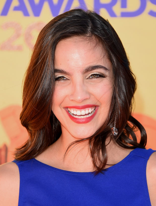 María Gabriela de Faría at the 2015 Kids' Choice Awards.