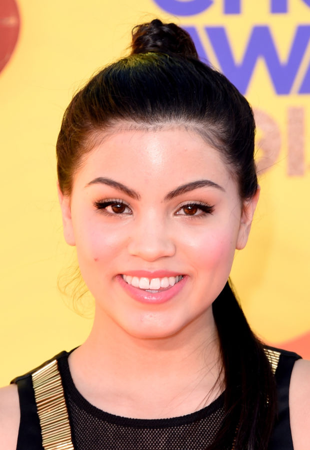 Paola Andino at the 2015 Kids' Choice Awards.