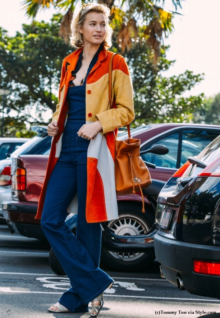 color block tommy ton