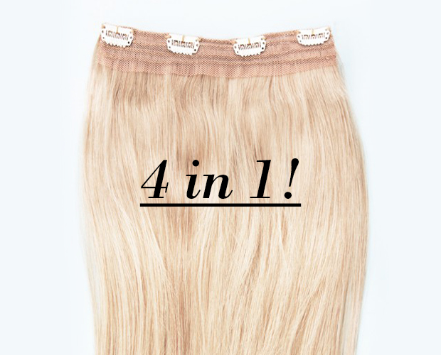 Capsule Hair Pieces 4 wefts in 1