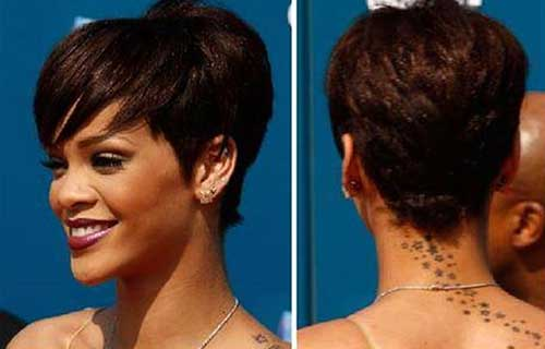 Rihanna Short Hair For Females