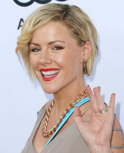 Kathleen Robertson Short Hair