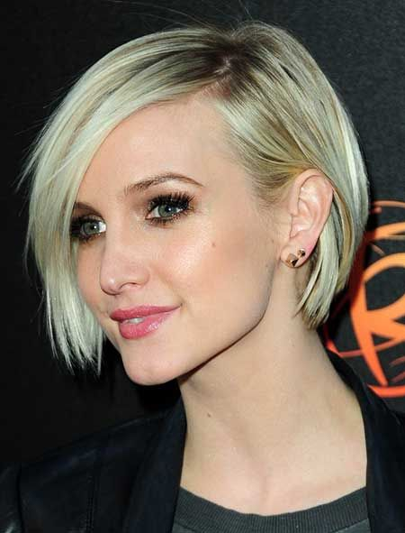 Charming Asymmetric Bob Hairstyle