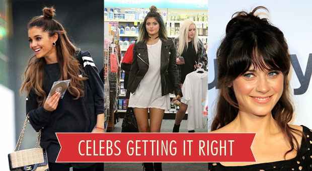 Celebs getting it right